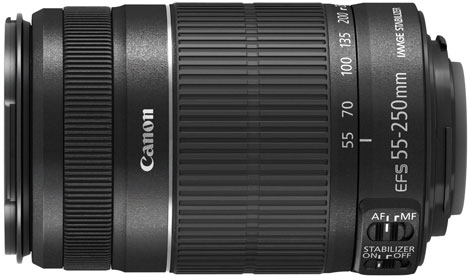Canon 55-250mm F4-5.6 IS II Tele Zoom