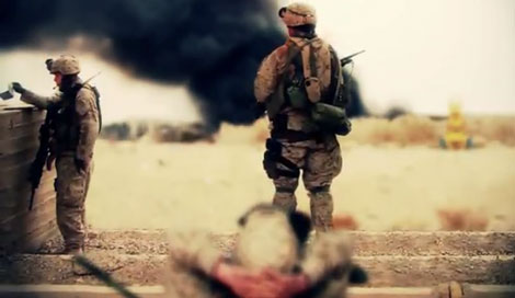 The Healing Power of Images: A Soldier Turned Filmmaker's Coping With the Aftermath of War