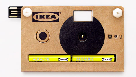 Game Changer! IKEA Launches Digital Cardboard Rangefinder Camera KNÄPPA