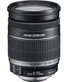 Canon 18-200mm F3.5-5.6 IS AF