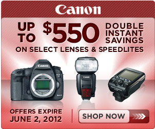 Latest Canon, Nikon, Sony, Olympus Rebates