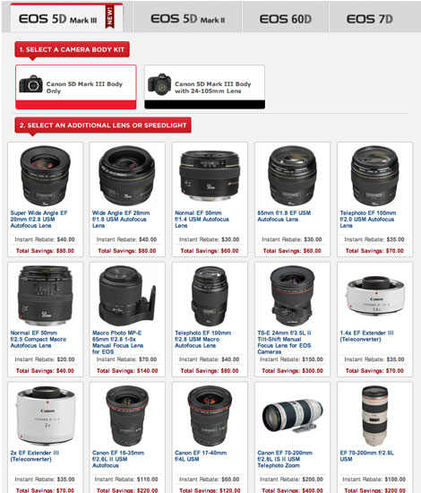 Canon Double Instant Rebates