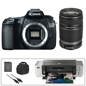 Canon 60D & PIXMA Pro Printer Bundle