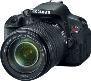Preorder the Most Advanced Canon Rebel T4i