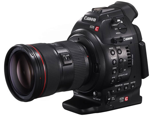canon eos c100 cinema camera Canon Entry Level EOS C100 Cinema Camera, Filmmakers New EF Mount Darling?