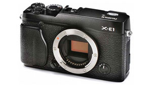 fujifilm x e1 thumb Here She Is, the New Fujifilm X E1    A Head On Olympus OM D Competitor?