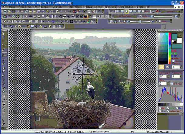 Freeware DigiFoto is rather complex and offers a few positive surprises.