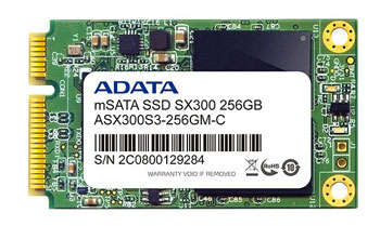 The Adata mSATA SSD drive.