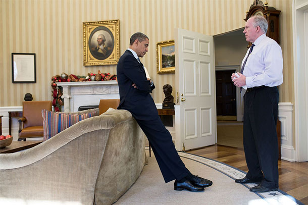 Striking political photography: A good image transcends the power of non-verbal information -- President Obama learning about the Sandy Hook massacre. | Pete Souza, White House photographer