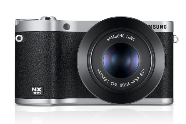 Samsung NX300, a stylish yet simple retro body with lots of innovation under the hood.
