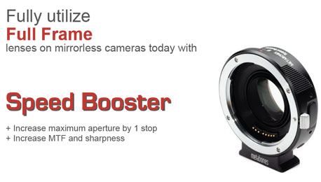 "No April Fools' — Metabones' ""Speed Booster"" Adapter Makes Your Lenses Faster, Wider, Sharper and Better"