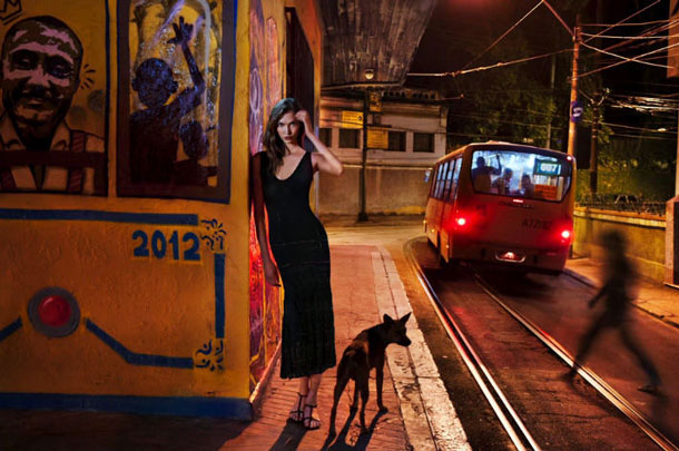 Steve McCurry for Pirelli Calendar 2013