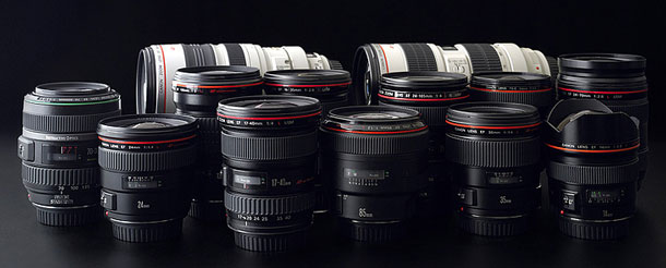 Instant rebates on Canon EF L lenses