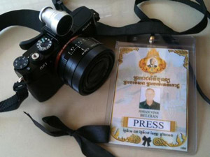 The Sony RX1 shoots Cambodia's royal funeral for Magnum Photos.   Johan Vink, Magnum Photos
