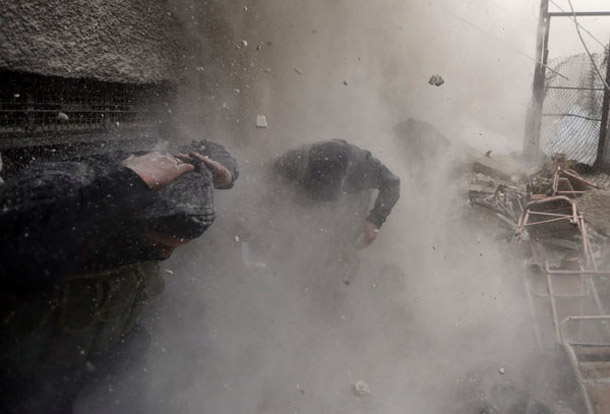 Intense battle scenes from Damascus   Goran Tomasevic, Reuters