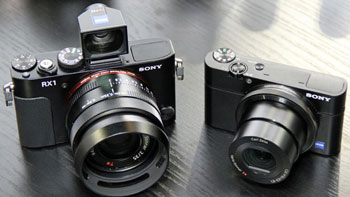 Sweet trade-in deals on the compact Sonys RX1 and RX100: which one will it be?