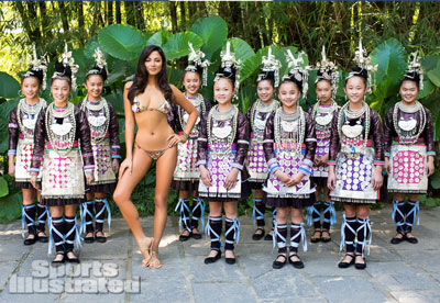 Jessica Gomes in China | Sports Illustrated