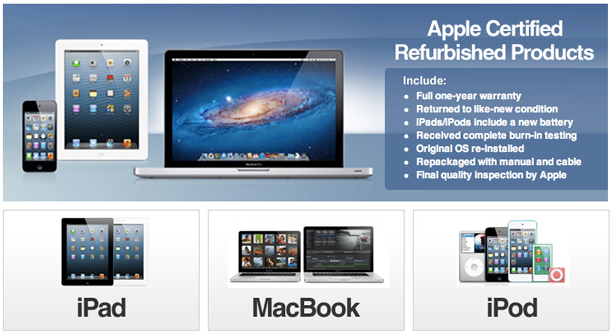 Apple Certified Refurbished Products