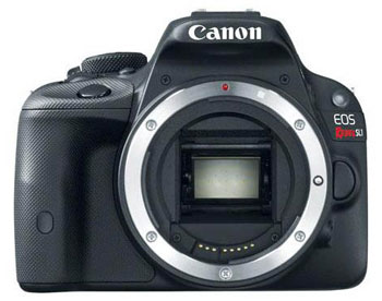 Canon's cutest DSLR yet, the miniaturesque EOS 100D/SL1.