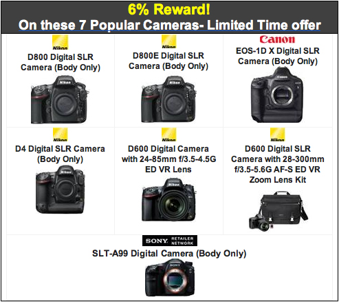 Rewards & Savings on Nikon, Canon & Sony FF + Up to $500 Sony ...