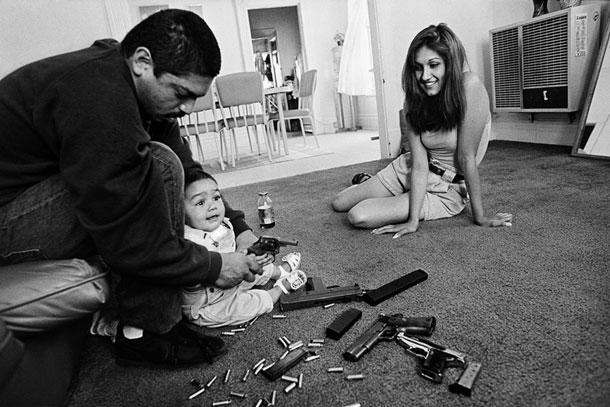 Chivos Family, Los Angeles, 1993 | Joseph Rodriguez