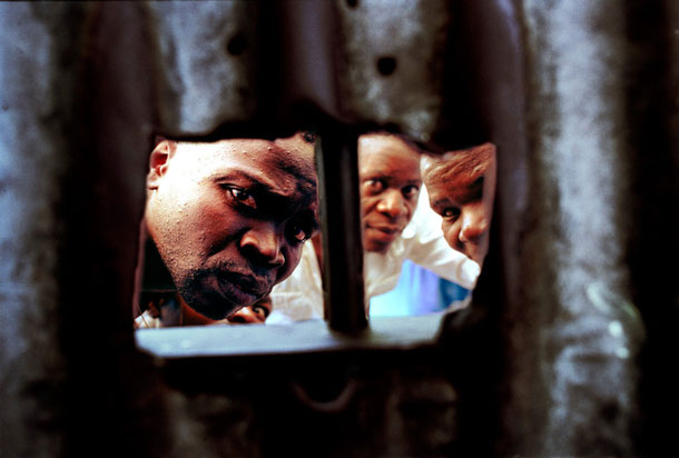 Kafminsa Prison, Sambia, 2003 | Joseph Rodriguez