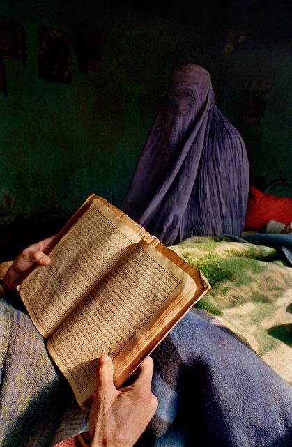 The Koran, Kabul, 2001 | Joseph Rodriguez