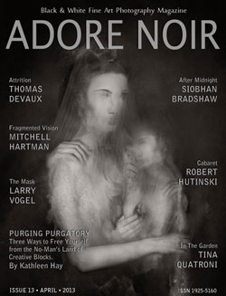 Adore Noir, a fine art black-and-white photography magazine…