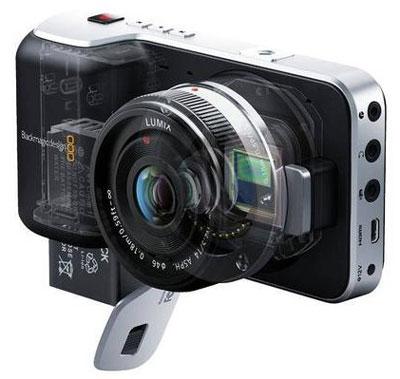 Blackmagic Pocket Cinema Camera X-ray