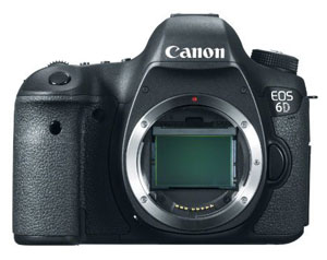 The full-frame Canon EOS 6D is becoming even more attractive.