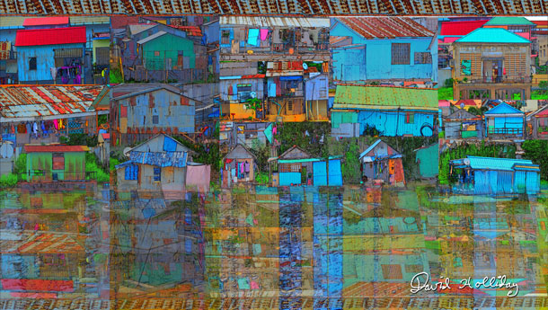 Riverside Shanty Town III | David Holliday