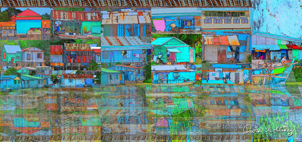 Riverside Shanty Town IV | David Holliday
