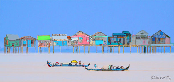 Stilt Houses | David Holliday
