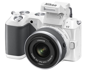 With the Nikon V2, inner values matter more than looks.