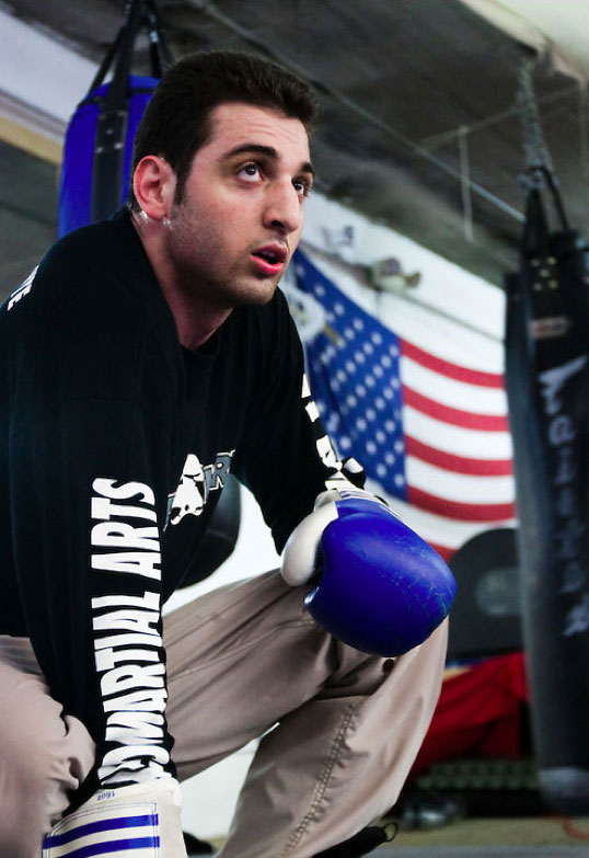 If he wins enough fights there, Tamerlan says he could be selected for the U.S. Olympic team and be naturalized American. Unless his native Chechnya becomes independent, Tamerlan says he would rather compete for the United States than for Russia. | Johannes Hirn / PhotoShelter