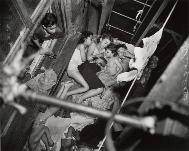 "Hot Summers in New York | Arthur ""Weegee"" Fellig"