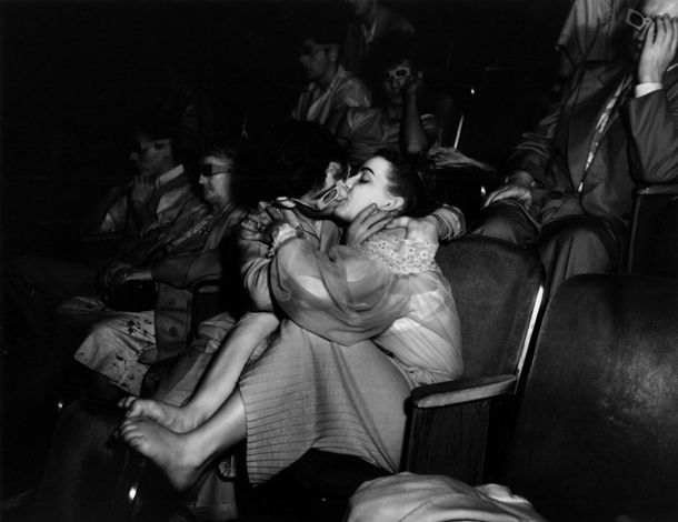"In the Cinema | Arthur ""Weegee"" Fellig"