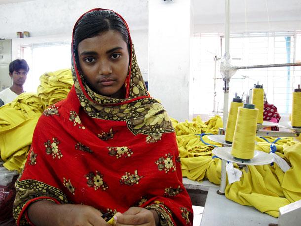 Garment Factory Girl