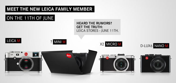 The upcoming Leica Mini M a.k.a. X Vario