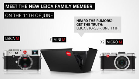 Leica Teaching Us a Lesson in Marketing? Possibly Some Positive Mini M a.k.a. X Vario News