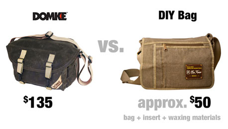 How to Wax Your Own Domke Lookalike Canvas Camera Bag