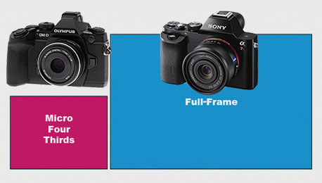 Sony's Full-Frame Breakthrough — What Micro Four Thirds Size and Weight Advantage?