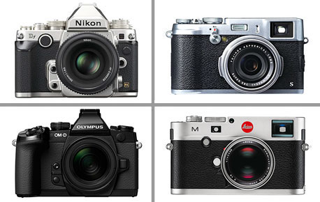 Photography's Modern-Day Classics — Cameras Blending High-Tech with Retro Style