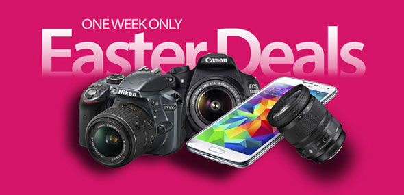 One Week Easter Camera Deals
