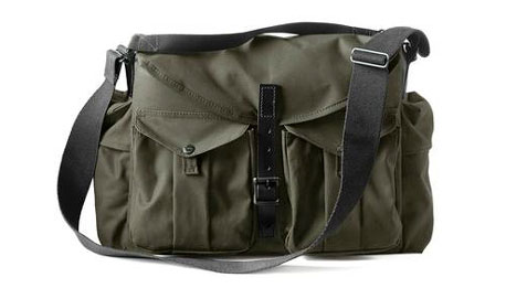 Steve McCurry's Quest for the Perfect Filson + Magnum Camera Bag