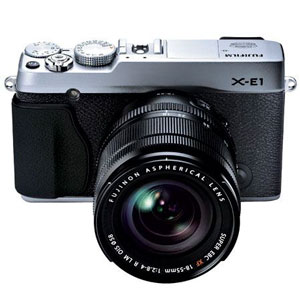 Fujifilm X-E1: $499 Body Only / $699 Kit