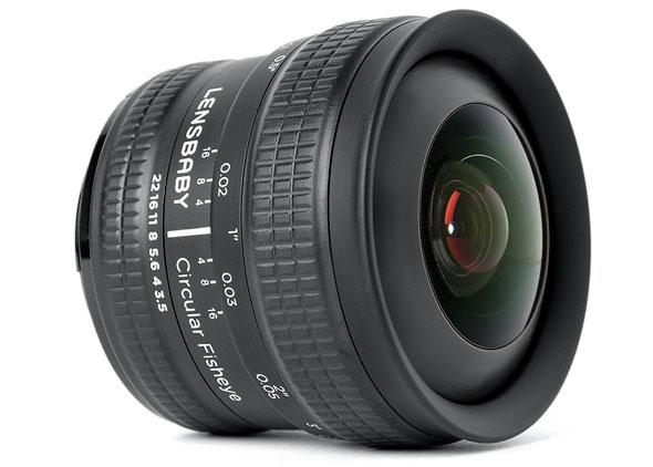 New Lensbaby 5.8mm Fisheye for Canon & Nikon