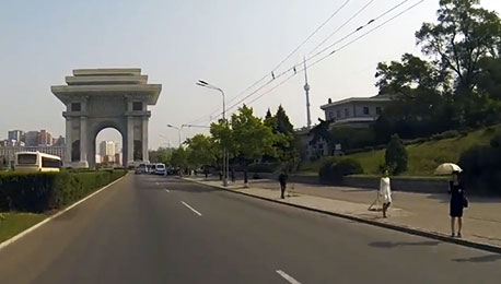 First Ever GoPro City Tour of Pyongyang