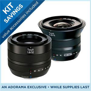 Zeiss Touit Lenses for Half Price, Save Up to $800