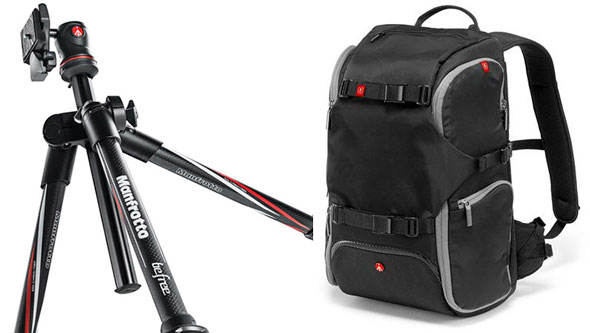 Great Manfrotto Deal: BeFree Carbon Fiber Tripod With Travel Backpack